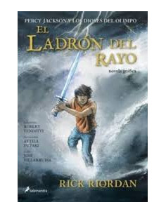 El Ladron Del Rayo Novela Grafica