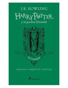Harry Potter Y La Piedra Filosofal Slytherin Verde