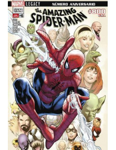 Amazing Spinderman Legacy Vol 6