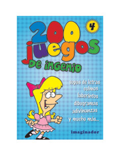200 Juegos De Ingenio 4