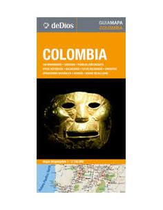 Colombia Guia Mapa