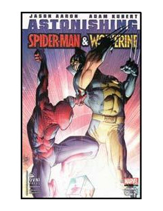 Astonishing Vol 2 Spiderman Vs Wolverine