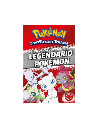 Pokemon Guia Oficial Del Mitico Y Legendario Pokemon