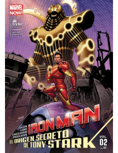 Iron Man El Origen Secreto De Tony Stark