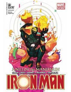 Iron Man Vol 5 Los Anillos Del Mandarin
