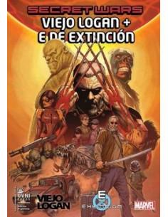 Secret Wars Vol 12 Viejo Logan Vs E De Extincion