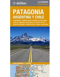 Patagonia Argentina Y Chile Guia Mapa