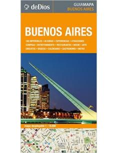 Buenos Aires Guia Mapa *barrio Norte San Telmo Puerto Madero Recoleta La Boca Monserrat