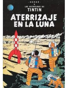 Tin Tin Aterrizaje En La Luna