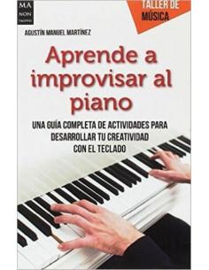 Aprender A Improvisar Al Piano *taller De Musica