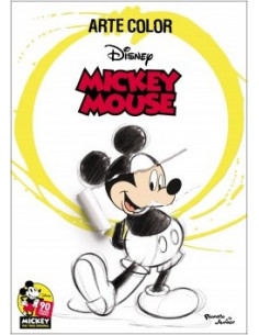 Mickey Mouse Arte Color