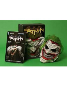 Mascara Batman: Death Of The Family Book And Joker Mask Set