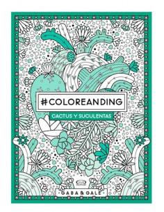 Coloreanding Cactus Y Suculentas