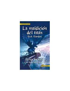 3.la Maldicion Del Titan Percy Jackson Y Los Dioses Del Olimpo