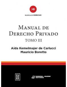 Manual Del Derecho Privado Tomo Iii