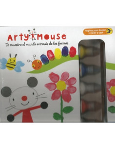 Arty Mouse Pinta Con Los Dedos