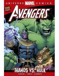 Coleccion Universo Marvel Thanos Vs Hulk