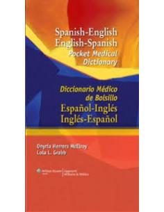 Diccionario Medico De Bolsillo. Spanish-english English-spanish