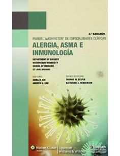 Manual Washington De Especialidades Clinicas: Alergia, Asma E Inmunologia