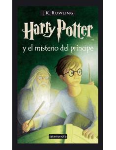 Harry Potter Y El Misterio Del Principe 6 Tapa Dura