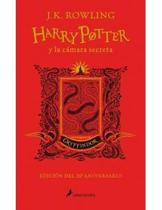 Harry Potter Y La Camara Secreta 2 Tapa Dura Gryffindor