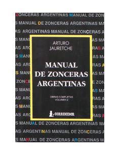 Manual De Zonceras Argentinas *obras Completas 2